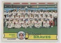 Atlanta Braves Team Checklist (Bobby Cox) [Poor]