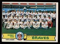 Atlanta Braves Team Checklist (Bobby Cox) [FAIR]