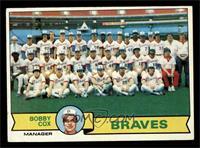 Atlanta Braves Team Checklist (Bobby Cox) [VGEX]