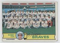 Atlanta Braves Team Checklist (Bobby Cox) [Good to VG‑EX]
