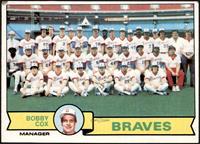 Atlanta Braves Team Checklist (Bobby Cox) [GOOD]