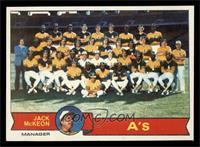 Oakland Athletics Team, Jack McKeon [NM]