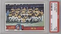 Oakland Athletics Team, Jack McKeon [PSA7]