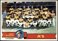 Oakland Athletics Team, Jack McKeon [NM]