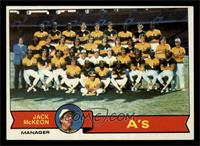 Oakland Athletics Team, Jack McKeon [FAIR]