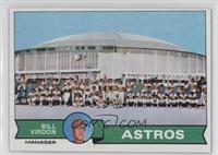 Houston Astros Team Checklist (Bill Virdon)