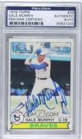 Dale Murphy [PSA/DNA Certified Auto]