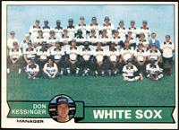 Chicago White Sox Team Checklist (Don Kessinger) [NM]