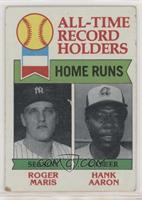 All-Time Record Holders - Home Runs - Hank Aaron, Roger Maris [Poor to&nbs…