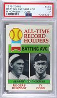 All-Time Record Holders - Home Runs - Hank Aaron, Roger Maris [PSA7…
