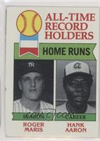 All-Time Record Holders - Home Runs - Hank Aaron, Roger Maris [Good to&nbs…