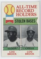All-Time Record Holders - Stolen Bases - Lou Brock