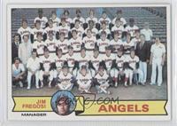Los Angeles Angels Team, Jim Fregosi