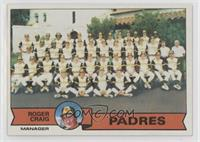 San Diego Padres Team Checklist (Roger Craig) [PoortoFair]