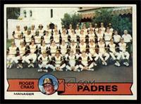 San Diego Padres Team Checklist (Roger Craig) [NM]