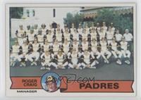 San Diego Padres Team Checklist (Roger Craig)