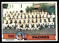 San Diego Padres Team Checklist (Roger Craig) [EXMT]