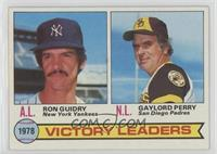 Ron Guidry, Gaylord Perry [GoodtoVG‑EX]