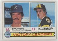 Ron Guidry, Gaylord Perry