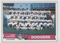 Los Angeles Dodgers Team, Tommy Lasorda [Good to VG‑EX]