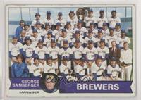 Milwaukee Brewers Team, George Bamberger [GoodtoVG‑EX]