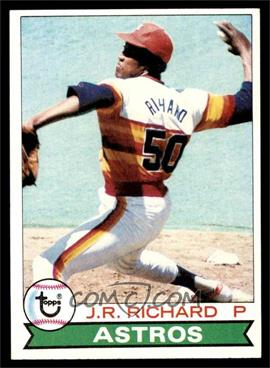1979 Topps - [Base] #590 - J.R. Richard [VG EX]