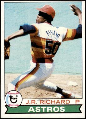 1979 Topps - [Base] #590 - J.R. Richard [EX]