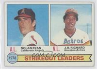 Strikeout Leaders (Nolan Ryan, J.R. Richard) [GoodtoVG‑EX]