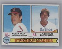 Strikeout Leaders (Nolan Ryan, J.R. Richard) [Near Mint]