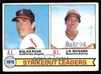 Strikeout Leaders (Nolan Ryan, J.R. Richard) [GOOD]