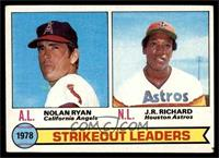 Strikeout Leaders (Nolan Ryan, J.R. Richard) [VG]