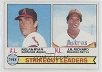 Strikeout Leaders (Nolan Ryan, J.R. Richard)