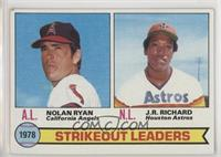 Strikeout Leaders (Nolan Ryan, J.R. Richard) [EX to NM]
