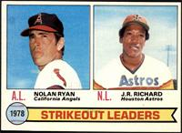 Strikeout Leaders (Nolan Ryan, J.R. Richard) [NM]
