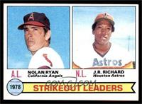 Strikeout Leaders (Nolan Ryan, J.R. Richard) [EX MT]