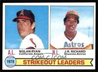 Strikeout Leaders (Nolan Ryan, J.R. Richard) [EX]
