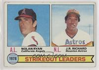 Strikeout Leaders (Nolan Ryan, J.R. Richard) [Good to VG‑EX]