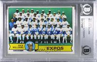 Dick Williams, Montreal Expos Team [BASCertifiedBASEncased]