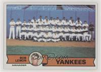 New York Yankees Team Checklist (Bob Lemon)