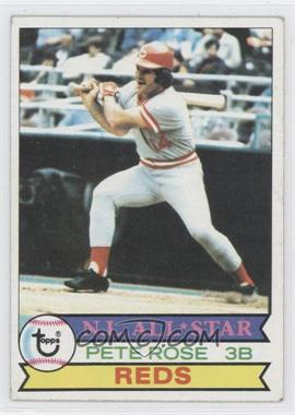 1979 Topps - [Base] #650 - Pete Rose [Good to VG‑EX]