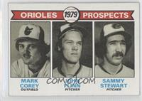 Mark Corey, John Flinn, Sammy Stewart