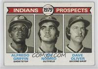 Alfredo Griffin, Dave Oliver, Tim Norrid [Poor]
