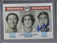 Brewers Prospects (Kevin Bass, Eddie Romero, Ned Yost) [JSACertified&nbsp…