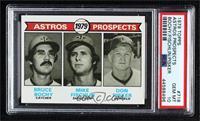 Astros Prospects (Bruce Bochy, Mike Fischlin, Don Pisker) [PSA10GEM…