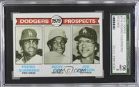 Dodgers Prospects (Pedro Guerrero, Rudy Law, Joe Simpson) [SGC96]
