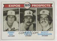 Jerry Fry, Jerry Pirtle, Scott Sanderson [GoodtoVG‑EX]