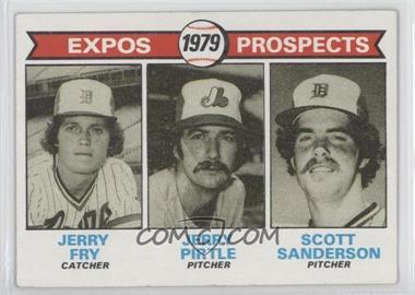 1979 Topps - [Base] #720 - Jerry Fry, Jerry Pirtle, Scott Sanderson