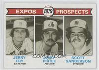 Jerry Fry, Jerry Pirtle, Scott Sanderson