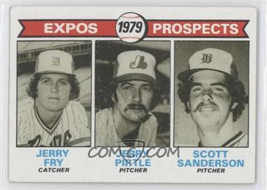 1979 Topps - [Base] #720 - Jerry Fry, Jerry Pirtle, Scott Sanderson [Good to VG‑EX]