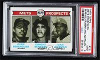 Mets Prospects (Juan Berenguer, Dwight Bernard, Dan Norman) [PSA9MI…